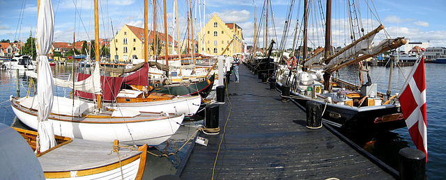 Svendborg, Museumshafen, Foto: Apeto