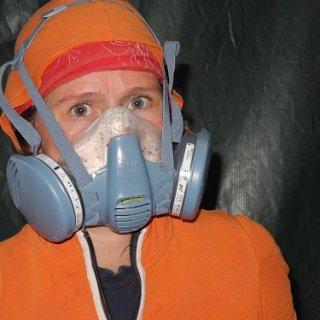 Katja ist seit Tagen mit Staubmaske und Ziehklinge bewaffnet, hier ist das vorläufige Ergebnis: