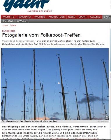 klassisch am wind in yacht online: