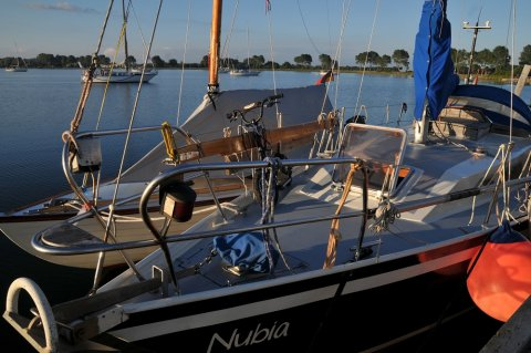 Nubia und Folke Admiral Jacob
