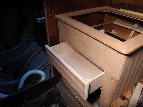 Bau einer Pantry im Folkeboot Admiral Jacob